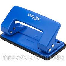 Діркопробивач металевий Delta D3510-02, 10 аркушів, синій