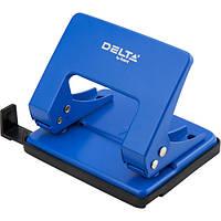 Дырокол металлический Delta D3520-02, 20 листов, синий, фото 1