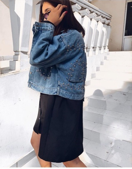 Необычный женский пиджак