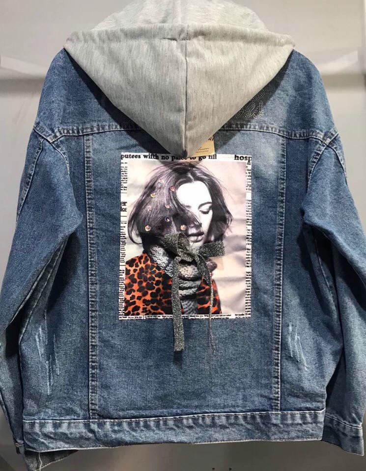 Пиджак с капюшоном