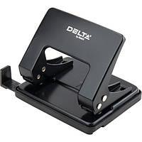 Дырокол металлический Delta D3520-01, 20 листов, черный, фото 1