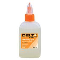 Клей канцелярский Delta D7223, 200 мл, колпачок-дозатор