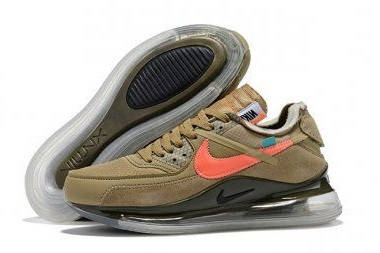 Мужские кроссовки Off-White x Nike Air Max 90 x 720 Brown