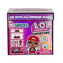 Кукла Лол Леди DJ набор мебели машинка L.O.L. Surprise! Furniture Cozy Coupe with M.C. Swag, фото 5