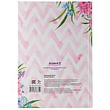Книга записная Axent Aquarelle 8433-06-А, твердая обложка, В5, 80 листов, клетка, фото 3