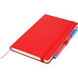 Книга записная Axent Partner 8201-03-A, А5-, 96 листов, клетка, красная, фото 3