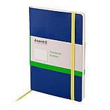 Книга записная Axent Partner 8209-07-A, А5-, 96 листов, точка, синяя, фото 2
