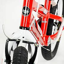 """Велосипед детский RoyalBaby SPACE NO.1 Alu 18"""", OFFICIAL UA, красный, фото 3"""