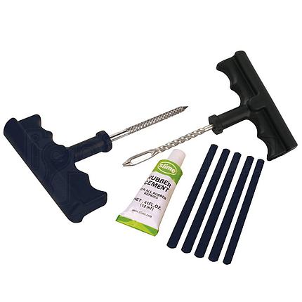 Ремонтный набор для бескамерных покрышек, Slime Tire Plug Kit, фото 2