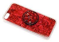 Чехол накладка Айфон IPhone 5 5S + Pop Socket