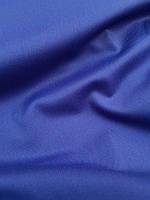Костюмная шерстяная ткань насыщенного синего цвета