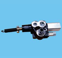 Клапан опрокидывающий пневматический 80 л Hyva