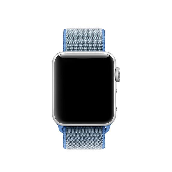 Ремешок ASSD для Apple Watch Series 2 Sport Loop 42 mm Tahoe Blue (40232)