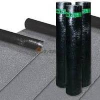 Бикроэласт ХКП 4,0 сланец серый; стеклохолст (10 кв.м/рулон)