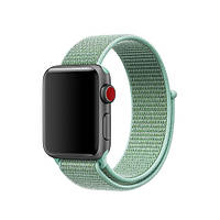 Ремешок ASSD для Apple Watch Series 3 Sport Loop 42 mm Marine Green (61324)