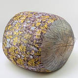 Антистрессовый Пуф Пенек интерьерный, полистерольные шарики, размер 24х30 см / tp - 15асп37ив, фото 2