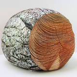 Антистрессовый Пуф Пенек интерьерный, полистерольные шарики, размер 24х30 см / tp - 15асп37ив, фото 4