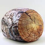 Антистрессовый Пуф Пенек интерьерный, полистерольные шарики, размер 24х30 см / tp - 15асп37ив, фото 5