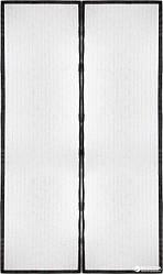 Антимоскитная сетка штора на магнитах Magic Mesh на двери 210 см на 100 см Цвета: Коричневый
