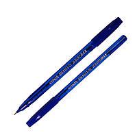 Ручка масляная, прозрачная, синяя, 50шт., BM.8353-01