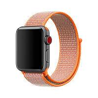 Ремешок Fors для Apple Watch Series 4 Sport Loop 38 mm Spicy Orange (77764)