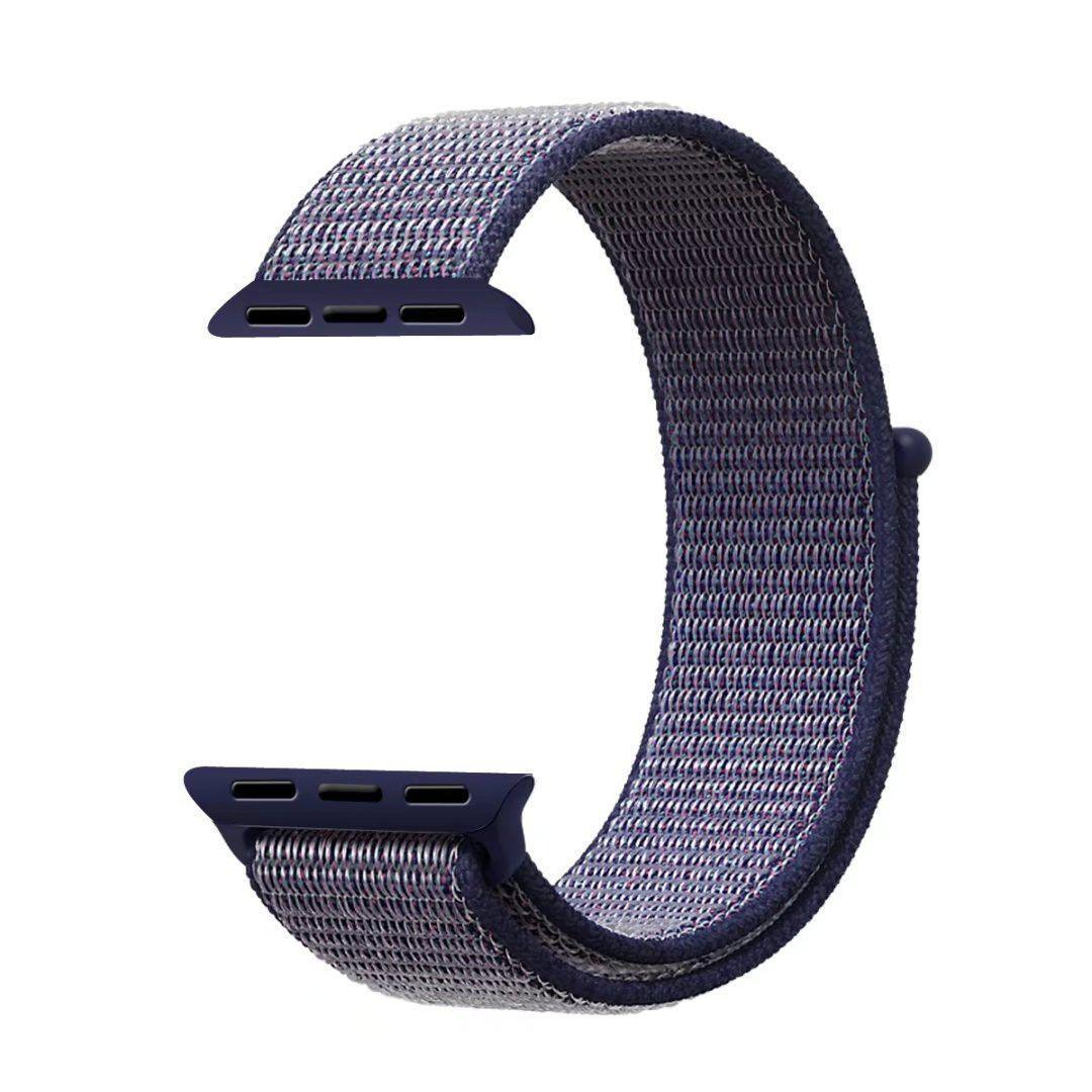 Ремешок Byronats для Apple Watch Series 2 Sport Loop 38 mm Midnight Blue (42848)