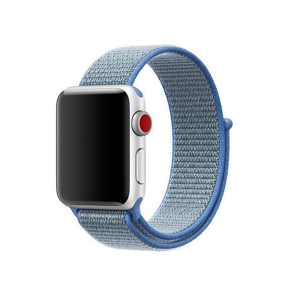 Ремешок Byronats для Apple Watch Series 3 Sport Loop 42 mm Tahoe Blue (91507)