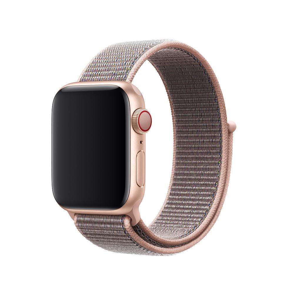 Ремешок Odavierwa для Apple Watch Series 4 Sport Loop 38 mm Pink Sand (80297)