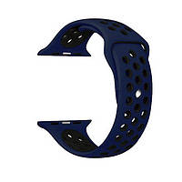 Ремешок Sadel Nike Sport Band для Apple Watch S-M size 38mm Midnight Blue/Black (36088)