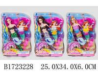 Кукла 30 см русалка с аксессурами, XY8003A /1723228