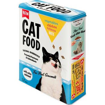Коробка для хранения Nostalgic-Art Cat Food XL (30320)