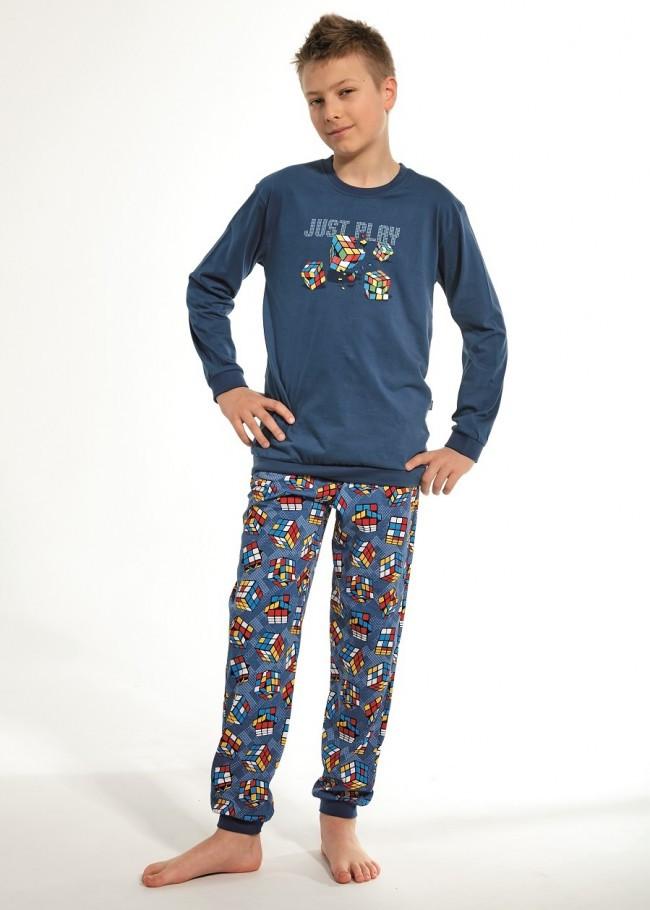 Пижама для мальчика 134-164. Польша.Cornette 966/96 CUBE