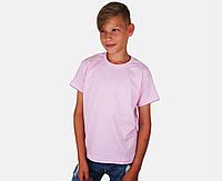 Детская Классическая Футболка для Мальчиков Светло-розовый Fruit of the loom 61-033-52 9-11, фото 1