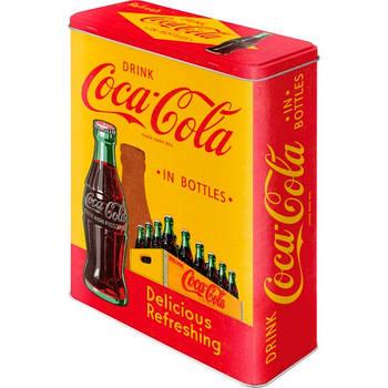 Коробка для хранения Nostalgic-Art Coca-Cola - In Bottles Yellow XL