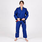 Кимоно женское для бразильского Джиу Джитсу TATAMI Nova Absolute Синее + Белый пояс в комплекте, фото 7