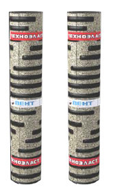 Техноэласт ВЕНТ ЭКВ сланец серый; 6,2; полиэстер (8 м.кв/рулон)