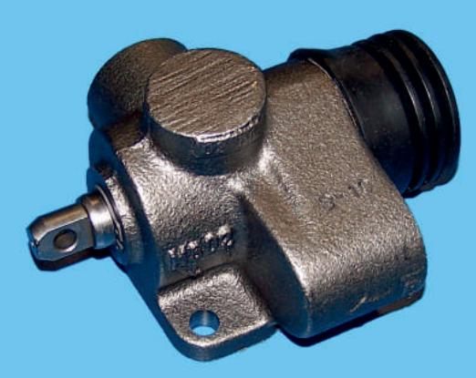 Клапан отсечной пневматический с опорой Hyva 14700506