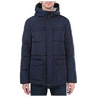 Мужская зимняя куртка Finn Flare W15-21007 синего цвета