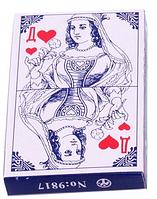 Игральные карты Голубая дама 9817/0901