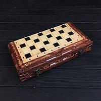 Подарочные шахматы и нарды ручной работы, фото 1