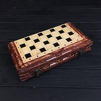 Подарочные шахматы и нарды ручной работы