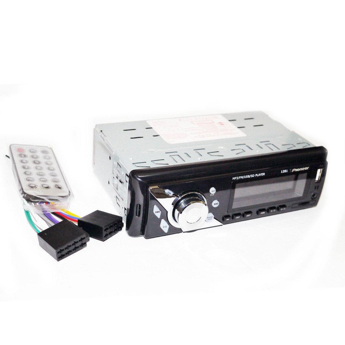 Автомагнитола  1281 ISO MP3+FM+USB+microSD-карта