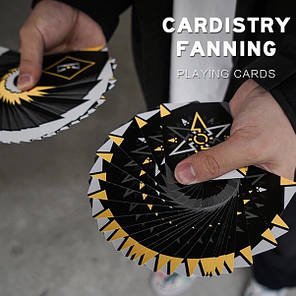 Карты игральные | Cardistry Fanning (Yellow) Playing Card, фото 2