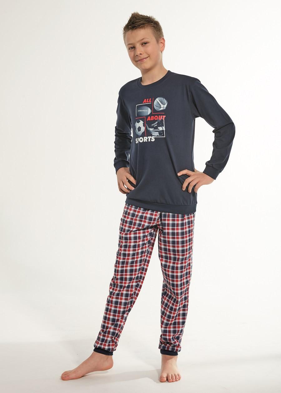 Пижама для мальчика 134-164. Польша.Cornette 966/100 SPORT