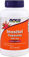 Витамины Now Foods - Inositol 500 мг (100 капсул)