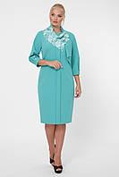 Стильное платье женское Элиза мята, фото 1