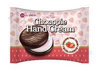 """Крем для рук """"клубничное печенье"""" The Saem Chocopie Hand Cream Strawberry"""