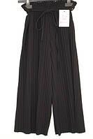 Шкільні брюки-кюлоти для дівчинки: 0171 чорний