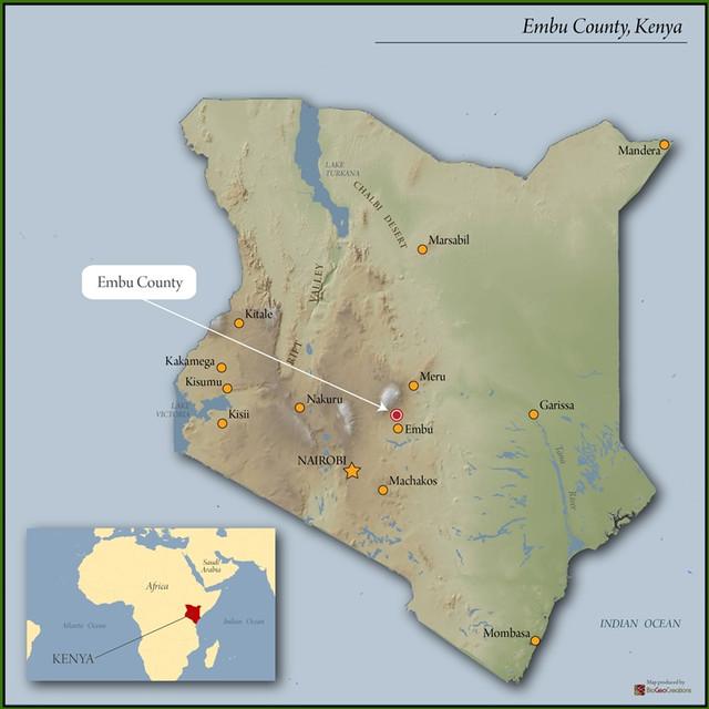 Kenya Gakundu Embu AA 250г. (Speciality coffee). Киния обжаренно под фильтр