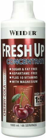 Витамины Weider Fresh up Cherry-Cola 1 L